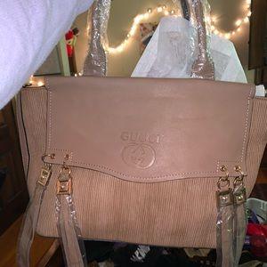 Beige Gucci bag 😅